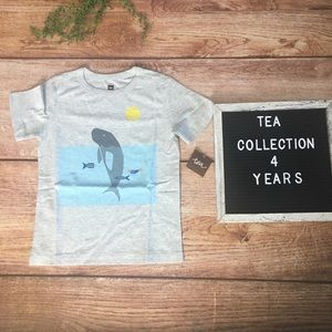 Tea Collection Manatee Graphic Tee 4T NWT